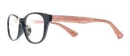 EBE Reading Glasses Black Wood Texture Full Rim Mens Women Round Anti Glare - $33.71+