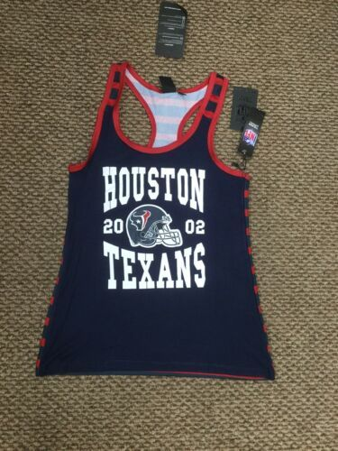 Primary image for NWT Houston Texans Football NFL Team Apparel Tank Top Shirt Women's Medium New