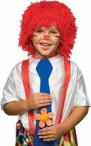 New RUBIES Red Yarn Raggedy Andy Halloween SCARECROW Boys Costume Wig OS... - $13.92