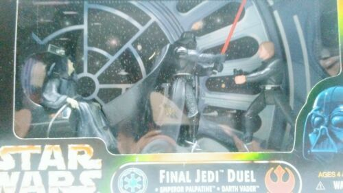 STAR WARS POWER OF THE FORCE FINAL JEDI DUEL ACTION FIGURE Master Box of 8