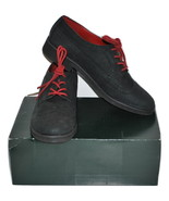 Women's Black Oxfords by Lauren Ralph Lauren Nubuck Suede (Pre-Owned) Si... - $21.89