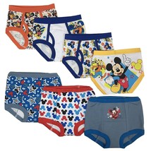 Mickey Mouse Toddler Boys' 3pk Training Pants and 4pk Briefs COMBO PACK - $16.99