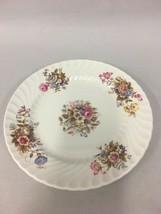Vintage AYNSLEY Bread  Butter Plate SUMMERTIME Fine Bone China ENGLAND EXCELLENT image 2