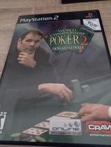 Sony PS2 World Championship Poker 2 (no manual) image 1
