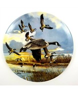 Collector Plate Geese The Landing by Donald Pentz Wings Up the Wind by D... - $14.24