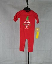 Baby Christmas 6 Months Bodysuit Red - $17.82