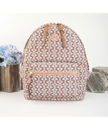 Tory Burch Piper Pink Gemini Link Nylon Leather Small Backpack Bag NWT - $242.06