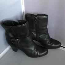 Clarks Women's Study Grade Black Ankle Boot ~ Size 6M - $29.65