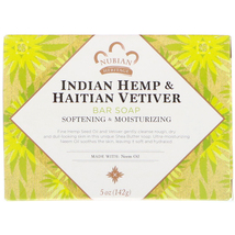 Bar Soap Indian Hemp And Haitian Vetiver 5 Oz - $9.00