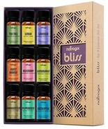 Natrogix Bliss Essential Oils - Top 9 Therapeutic Grade 100% Pure Essent... - $46.01