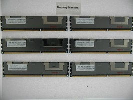 48GB  (6X8GB) MEMORY FOR DELL POWEREDGE T410 T610 T710 R610 R710 R715 - $178.18