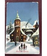 Buon Natale Post  Card 324/IV - $14.03