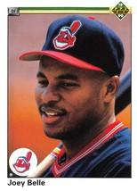 1990 Upper Deck #446 Joey Belle RC Rookie Card > Cleveland Indians ⚾ - $0.99