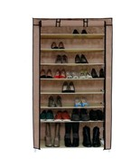 NEW 45 Pair Dustproof Cover Closet Shoe Organizer Storage Rack Boots 10 ... - $59.30