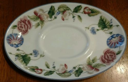 Royal Worcester WOODBURY underplate for Gravy Boat