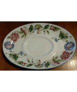 Royal Worcester WOODBURY underplate for Gravy Boat - $9.85