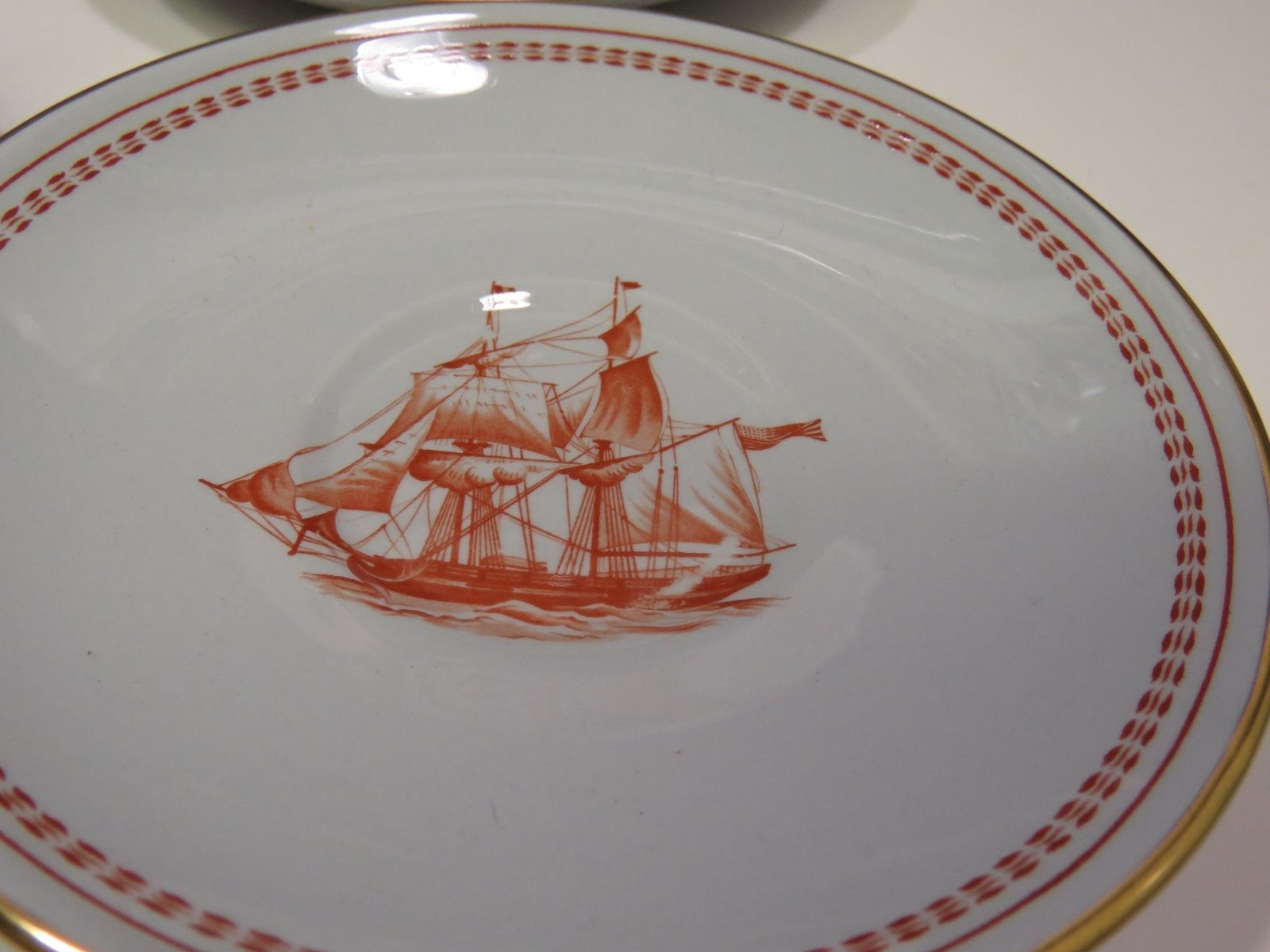 Copeland Spode Trade Winds Red Newport Tall and 21 similar items