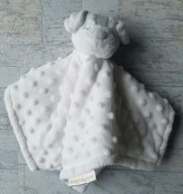 Blankets and & Beyond Baby Boy White Gray Puppy Dog Security Lovey  plus... - $18.80