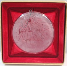 Hallmark Christmas Ornament Prism Shining Heaven Earth - $8.79
