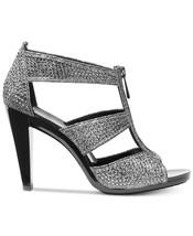 Michael Kors MK Women's Berkley T-Strap Glitter Chain Mesh Dress Sandals Shoes image 2