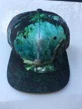 Legend of Zelda Snapback Cap Hat Forest Green Sword Shiny Bioworld New N... - $24.49