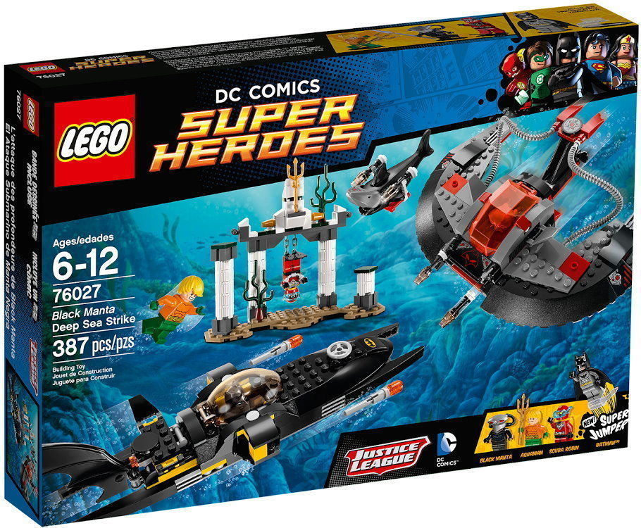 Lego Super Heroes Black Manta Deep Sea Strike 76027 [NEW] Building Set