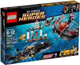 Lego Super Heroes Black Manta Deep Sea Strike 76027 [NEW] Building Set - $75.55