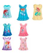 Disney Store Ariel Nightshirt Nightgown Princess Flounder Mermaid Teal C... - $39.95