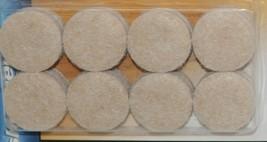 Shepherd 9952 Heavy Duty Felt Pads 1 Inch 2 Packages 16 Each 32 Total image 2