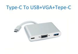 Type C to 4K HDMI USB 3.0 HUB Adapter USB-C 3.1 Converter For Macbook Fr... - $11.65