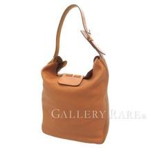 HERMES Virevolte29 Swift Taurillon Clemence Vache Gold Shoulder Bag #T A... - $2,500.50