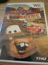 Nintendo Wii Cars Mater-national Championship image 1