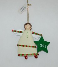 Dicksons CHO-521 Set Of Two Angel Ornaments Joy Love image 2