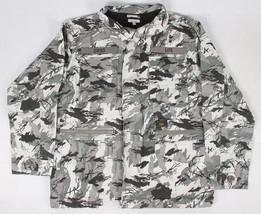Diamond Supply Co. Uomo Camouflage M65 Giacca Nwt Grigio