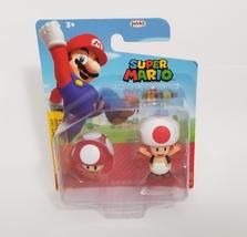 Jakks Pacific Super Mario Bros Toad With Super Mushroom
