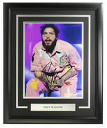 Post Malone Signed Framed 11x14 Photo PSA/DNA AI11638 - $356.39