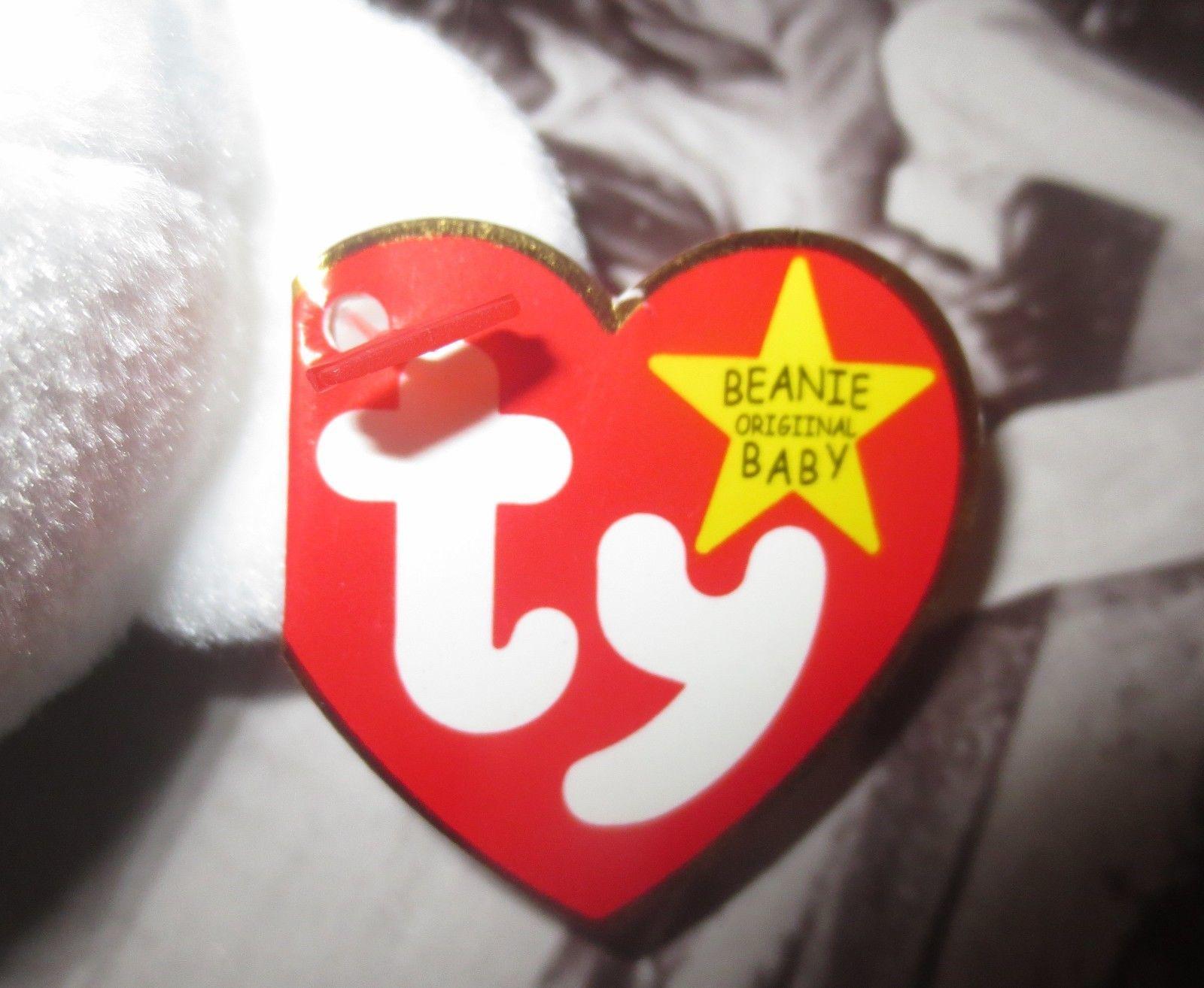 Ty Beanie Baby Valentino 1994 5th Generation 2 Tag Errors