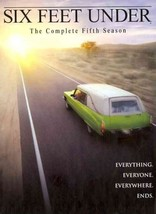 SIX FEET UNDER: THE COMPLETE FIFTH SEASON NEW DVD - $78.30