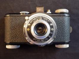 Vintage SPARTUS 35F CAMERA Model 400 35mm Herold MFG Company EXCELLENT S... - $34.64