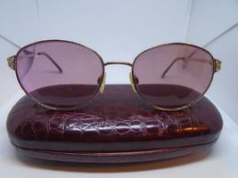 MARCHON Women Eye Glasses Rasberry Passion Pink Glitter 55-18-135 Eyewea... - $29.95