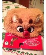 Rudolph The Red Nosed Reindeer Holiday Dog Pajamas Hooded Pet Jacket Siz... - $19.99
