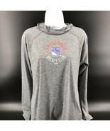 NHL New York Rangers Women's Hooded Performance Pullover Size M (8/10) -... - $32.99