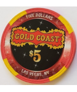 Wrangler National Finals 50 Rodeo Las Vegas Gold Coast $5 Casino Poker Chip - $9.95