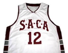 Dwight Howard #12 Saca High School Men Basketball Jersey White Any Size image 1