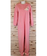 Nick & Nora Small One Piece Footed Footie Pajamas Pink Easter Rabbit NWT... - $33.24
