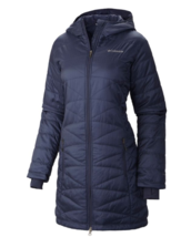 Columbia Mighty Lite Hooded Jacket Women's - Nocturnal - Small WL5033-591 - $54.40