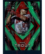2017 Topps Fire Green #50 Mike Trout NM-MT /199 Angels ID:164652 - $15.83