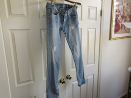 Guess Jeans , Ladies , Blue  , Vintage , Daredevil , ShinnyLeg , Size 29 - $29.61