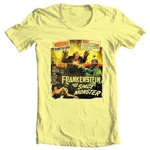 Frankenstein Meets The Space Monster T Shirt B Movie sci fi vintage cotton tee image 2
