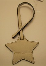 Purse charm Michael Kors ReDuCeD pRiCe Leather Star Monogram charm NWT K14 - $9.89